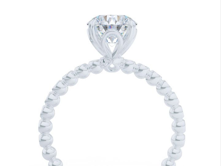 Tmx 1439217631160 Diamond Solitaire Engagement Ring In White Gold An Boca Raton wedding jewelry