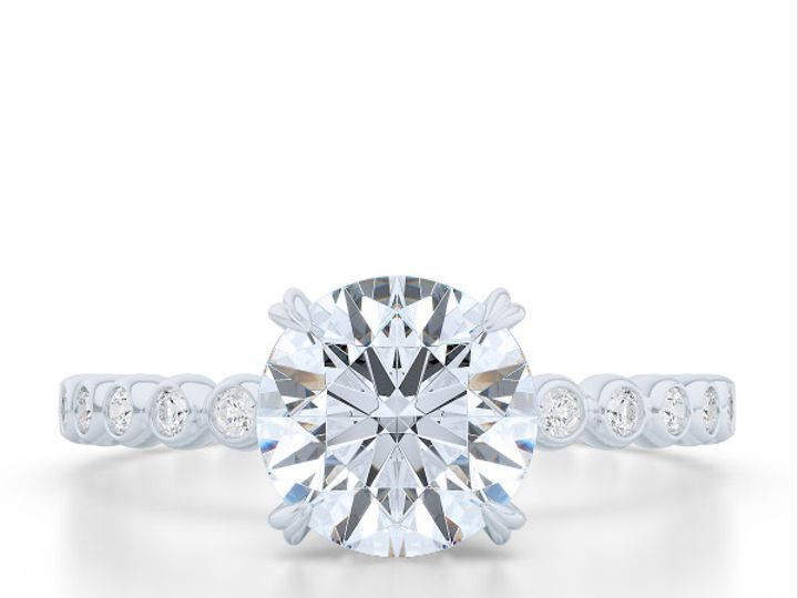 Tmx 1439217634245 Diamond Solitaire Engagement Ring In White Gold An Boca Raton wedding jewelry