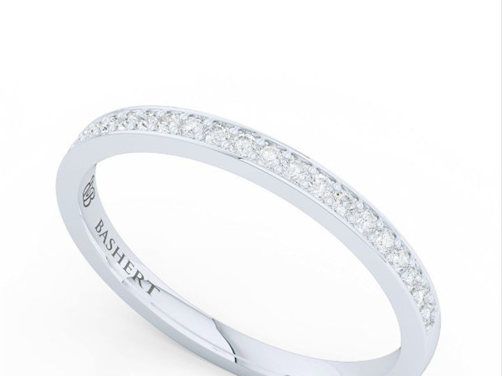 Tmx 1439823737558 Bashertjewelrycustomhaloengagementringinwhitegoldp Boca Raton wedding jewelry
