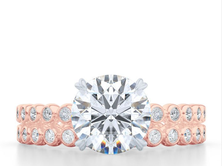 Tmx 1439908316606 Diamond Solitaire Engagement Ring In Rose Gold And Boca Raton wedding jewelry