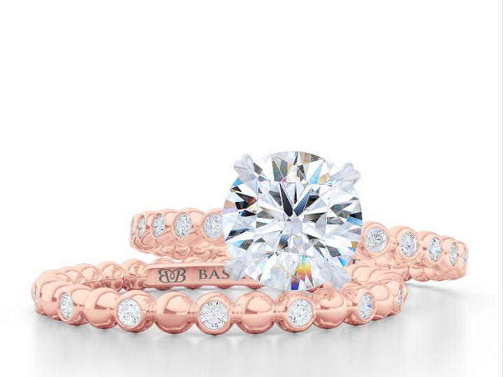 Tmx 1440517708542 Diamond Eternity Wedding Band In Rose Gold. Bezel  Boca Raton wedding jewelry