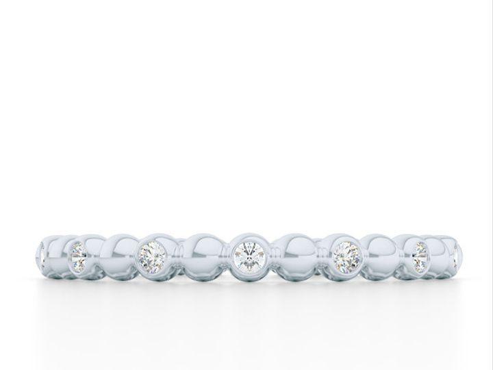 Tmx 1440517926533 Diamond Eternity Wedding Band In White Gold. Bezel Boca Raton wedding jewelry