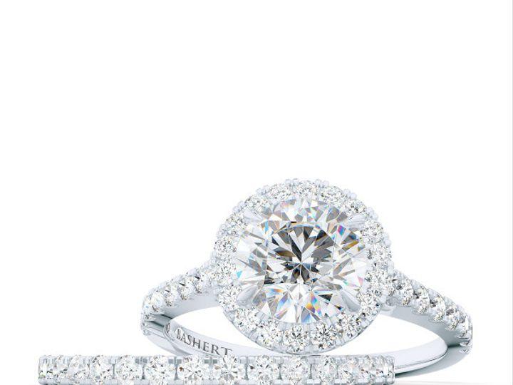Tmx 1440627264731 Bashert Jewelry. Custom Classic Diamond Encrusted  Boca Raton wedding jewelry
