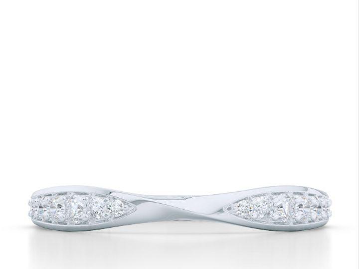 Tmx 1440713965620 Custom Twisted Diamond Wedding Band In Precious Pl Boca Raton wedding jewelry