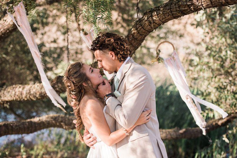 boho wedding nathalie bize photography 34