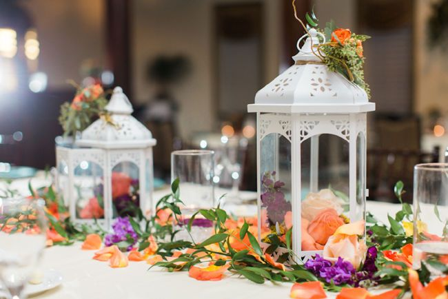 Lantern table decorations