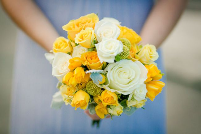 Sunny yellow bouquet