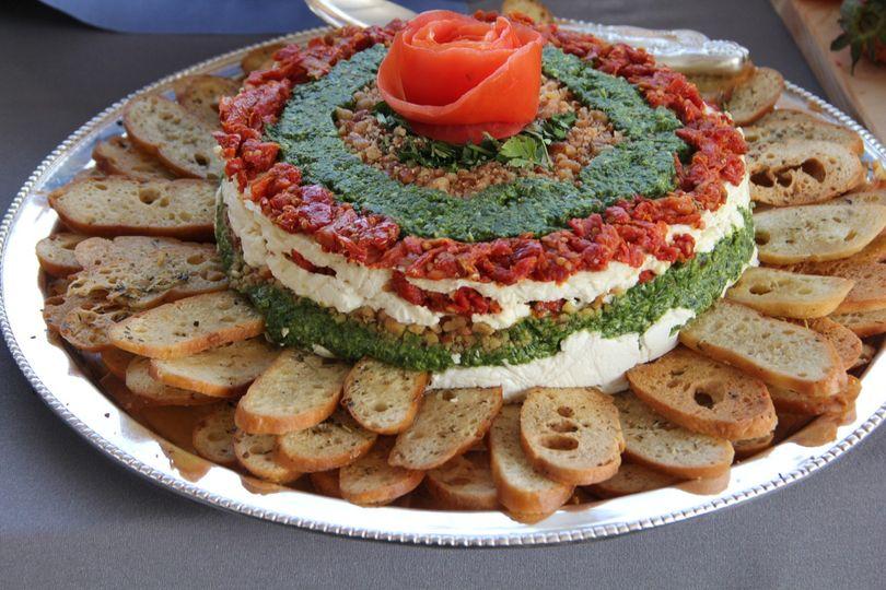Chevre torte