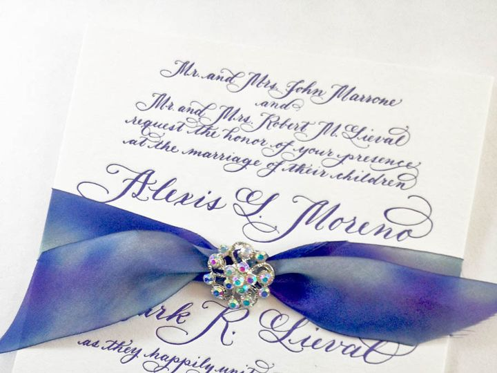 Tmx 1433734833135 Alexis Invite1 Farmington, MI wedding invitation