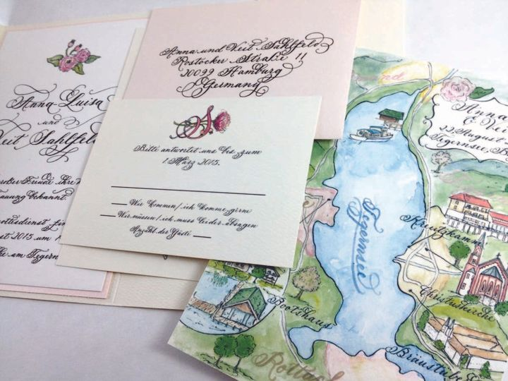 Tmx 1433734841851 Anna Germany Invite1 Farmington, MI wedding invitation