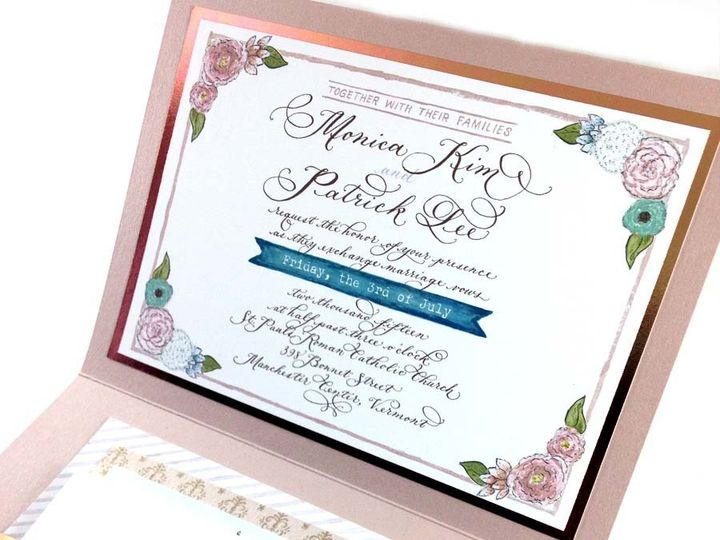 Tmx 1433735006034 Monica Kim Invite1 Farmington, MI wedding invitation