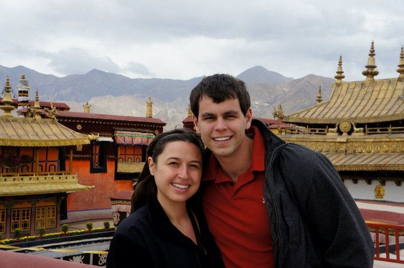 Laura and D.R. on an incredible Asian honeymoon.