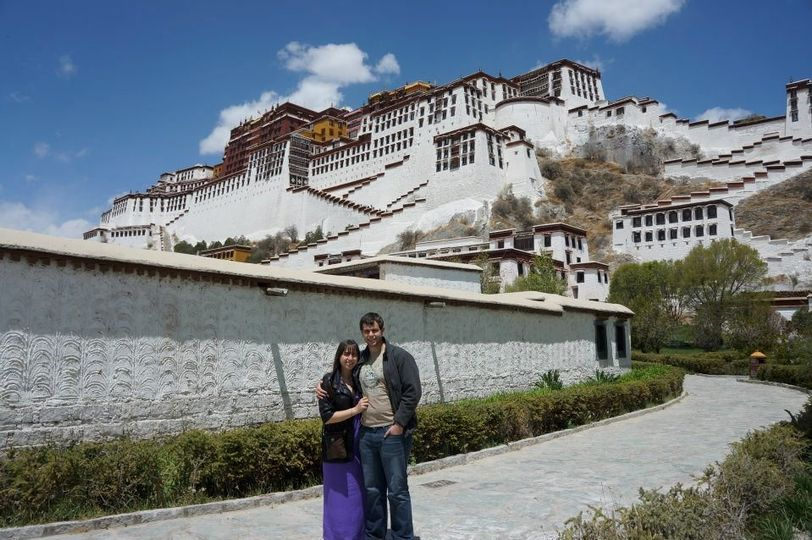 Laura and D.R. continuing their Asian adventure.