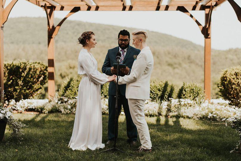 Berkshire ceremony