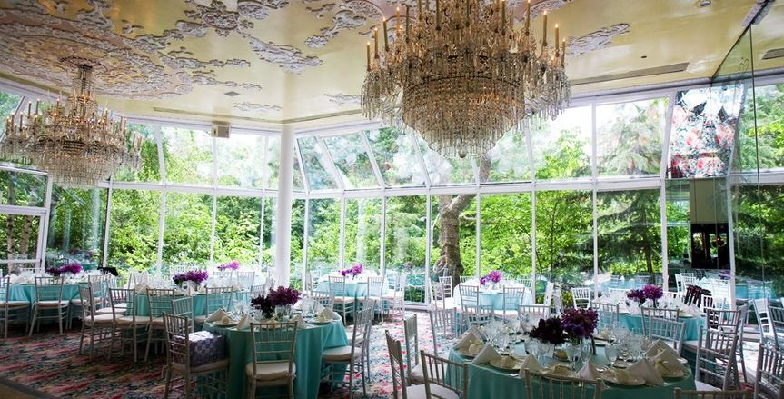 adtr tables in glass ballroom chandalier 51 582950