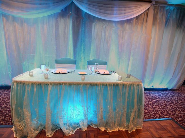 Tmx 1405405374730 Sweet Heart Table 2 Smaller Orlando, Florida wedding rental