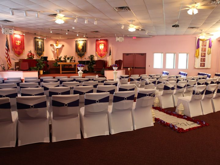 Tmx Adtr Ceremony Room Full Cover Chairs Runner With Flowers 51 582950 Orlando, Florida wedding rental