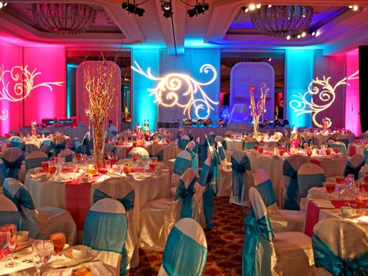 Tmx Adtr Turquoise And Pink Full Room Round Tables 51 582950 Orlando, Florida wedding rental