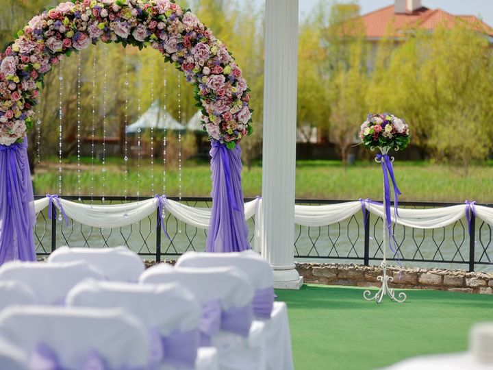 Tmx Adtr Wedding Arch Flowers With Draping In Background 51 582950 V1 Orlando, Florida wedding rental