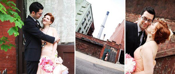 a couple in dumbo - posed shots