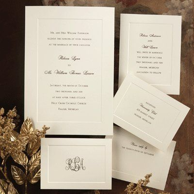 Tmx 1318111046109 6686lr Lake Oswego wedding invitation