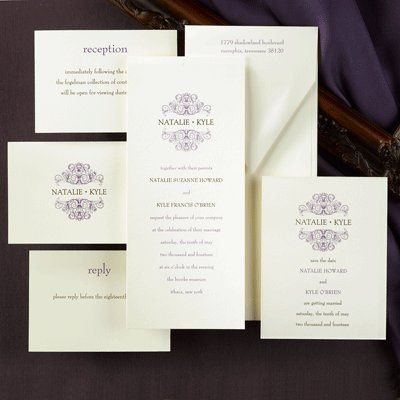 Tmx 1318111062390 CS5435Clr Lake Oswego wedding invitation