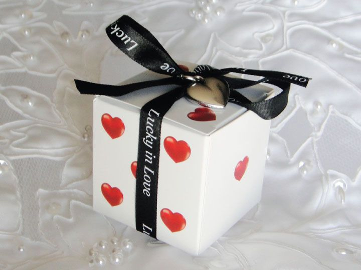Lucky in Love Dice Favor Box