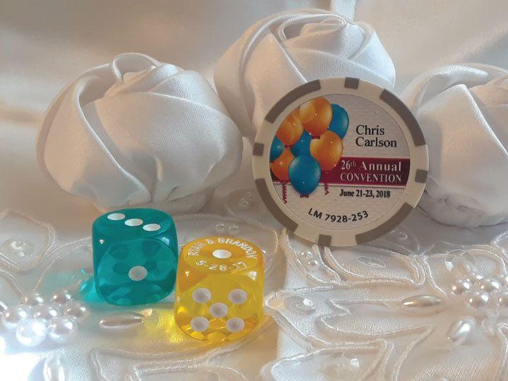 Custom Chip & Dice