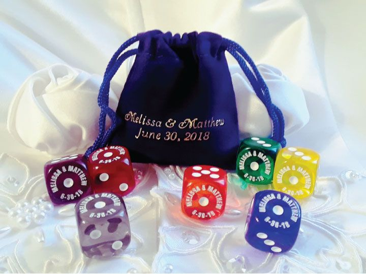 Translucent Dice (Many Colors)