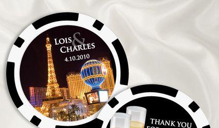 Vegas Wedding Favors