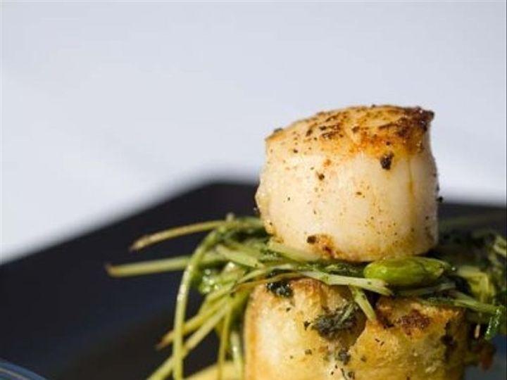 Tmx 1224994637677 ChefAdair Small Bread Pudding Scallop 1 Cotati, CA wedding catering
