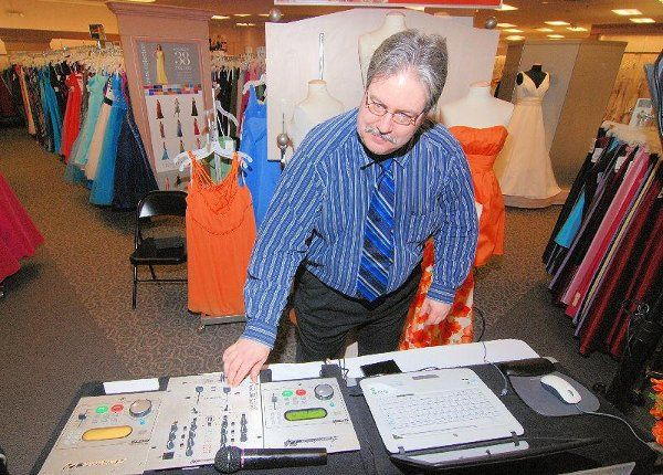 Big John at the Controls of David's Bridal Showcase