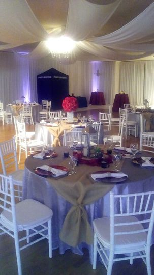 Wedding Set-up with table