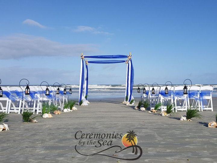 Tmx 1530130590 4b2a38f6553929cb 1530130588 59bbcda9309d55c8 1530130564696 9 Navy Blue Organza  New Smyrna Beach, FL wedding planner
