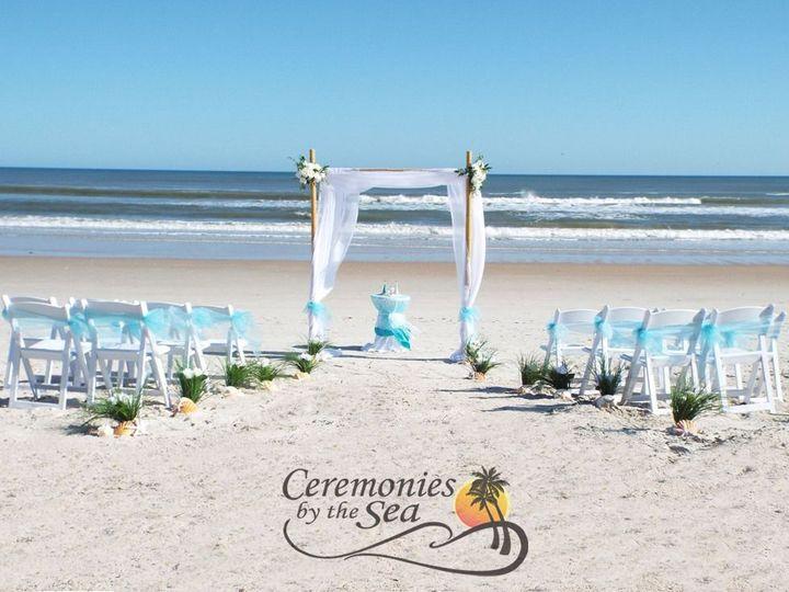 Tmx 1530130611 9779140daf983f3c 1530130608 13e55126b6280f68 1530130595296 19 Bamboo Arch Aqua  New Smyrna Beach, FL wedding planner