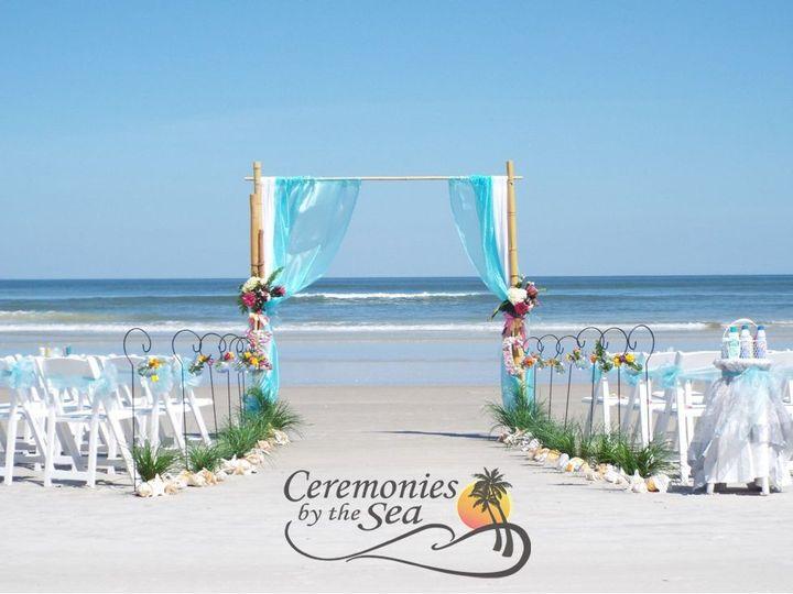 Tmx 1530130623 D70d2be3f3c8aa8d 1530130622 26dff11b6e7a3dda 1530130595299 21 Bamboo Arch Aqua  New Smyrna Beach, FL wedding planner
