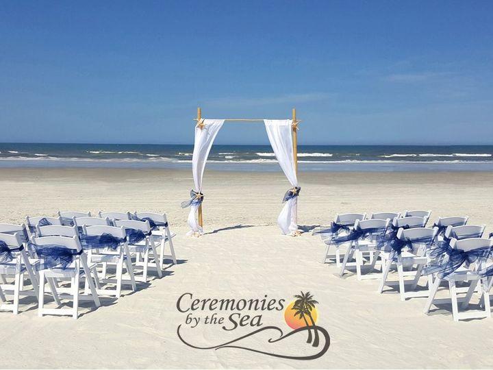 Tmx 1530130638 39d48014250cbde3 1530130637 B3de322c1ea5a89a 1530130595307 31 Bamboo Arch Navy  New Smyrna Beach, FL wedding planner