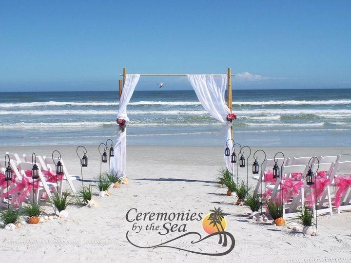 Tmx 1530130639 1e3c5d30f65f6137 1530130637 4128cda5ac46b814 1530130595304 26 Bamboo Arch Fuchs New Smyrna Beach, FL wedding planner