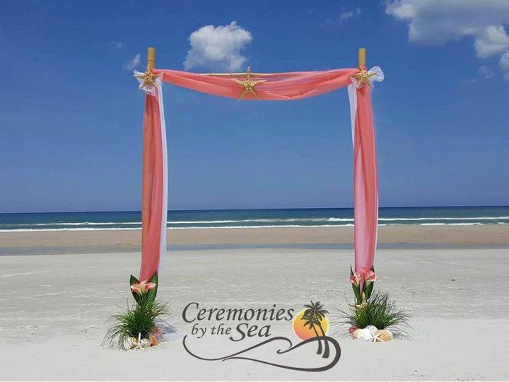Tmx 1530130639 8f005cd772b11310 1530130637 5ae8d1f099f4a929 1530130595303 25 Bamboo Arch Coral New Smyrna Beach, FL wedding planner