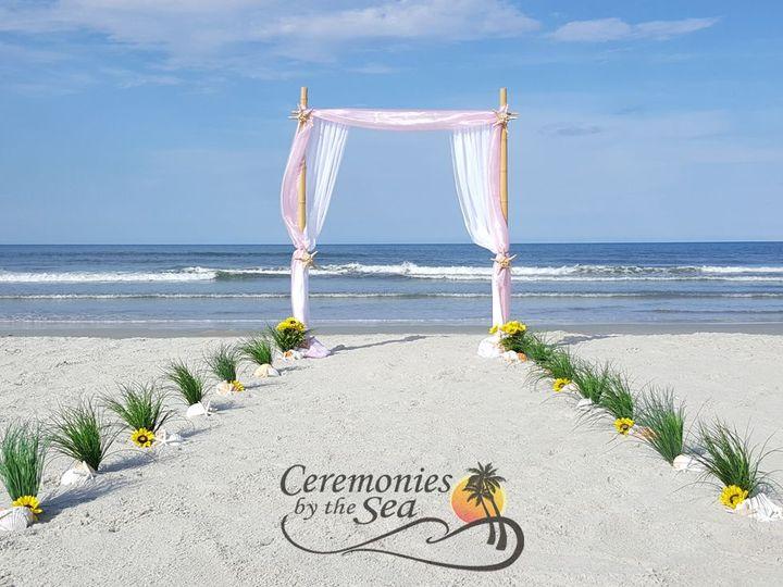 Tmx 1530130639 Accfec8322f7dd40 1530130637 58456d168290f3fc 1530130595308 32 Bamboo Arch Pink  New Smyrna Beach, FL wedding planner