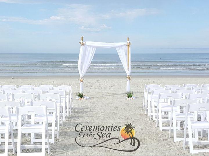 Tmx 1530130647 902517b91d366334 1530130645 2dfb9b33dc503bd3 1530130595311 36 Bamboo Arch White New Smyrna Beach, FL wedding planner