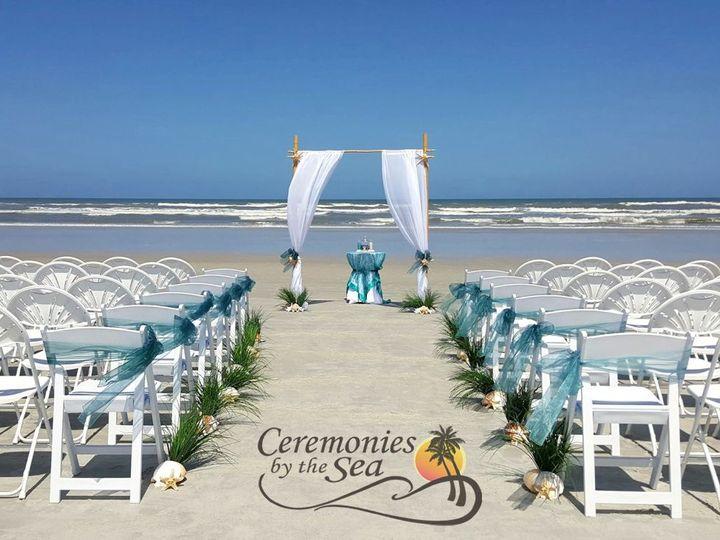 Tmx 1530130647 B2fe9a967133c7f4 1530130645 D4c9b2741bdaa27d 1530130595309 34 Bamboo Arch Teal New Smyrna Beach, FL wedding planner