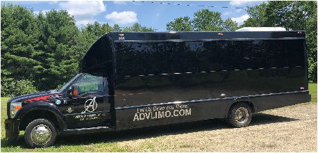 Tmx Black Limo Bus Exterior 51 127950 160277990518358 Swanzey, NH wedding transportation