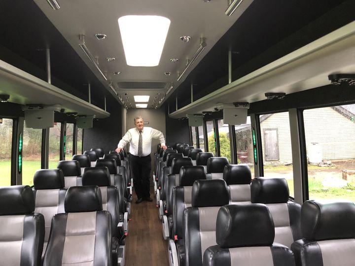 Tmx Mark C On The Coach Bus 043019 51 127950 160277947587662 Swanzey, NH wedding transportation