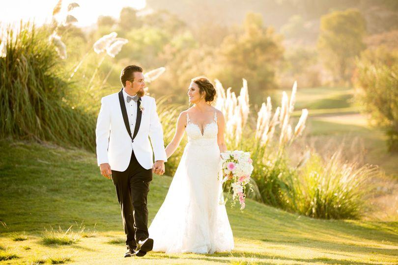 Couples Portrait Golf Course
