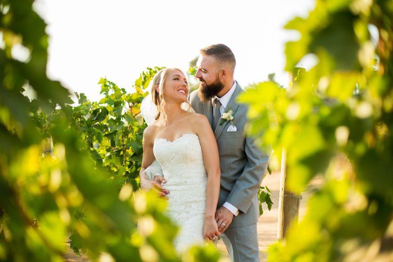 Vineyard Couples Portrait