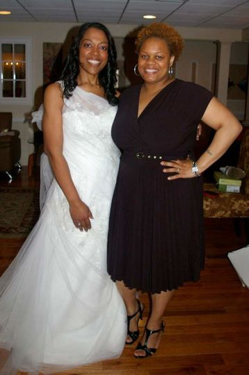 Bride and the planner