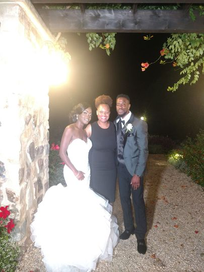 Newlyweds with the planner