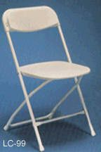Plastic chairs, wood chairs or resin chiavari chairs