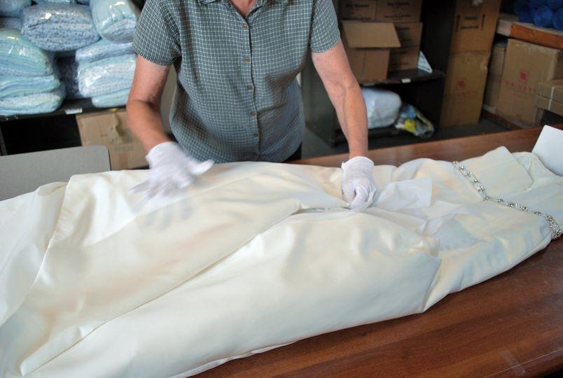 Folding for preservation